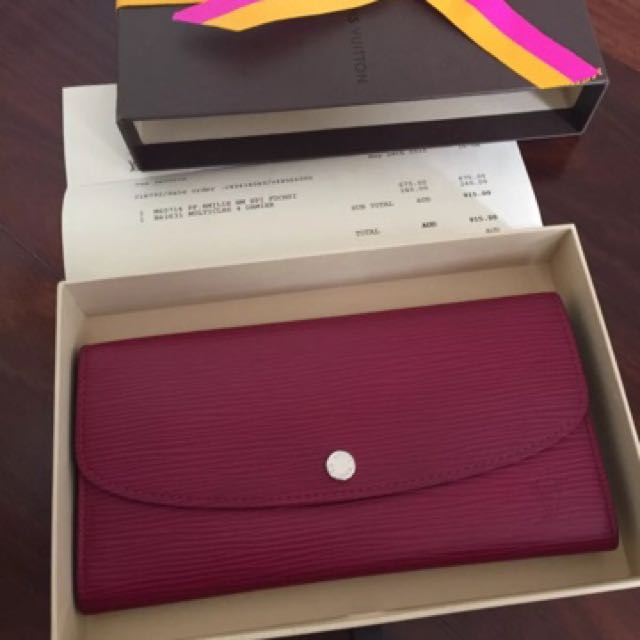 100% Authentic Louis Vuitton Wallet Come With Every Thing
