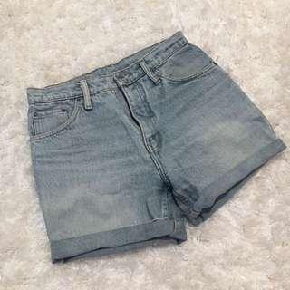 Postage Incl - Vintage High waist Short
