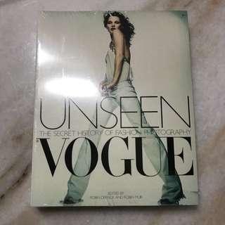 Unseen Vogue Book (BRAND NEW)