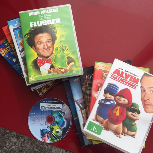 10 DVD's Children's/family Entertainment