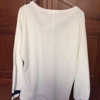 Kaos Semi Formal Putih (jual Rugi)