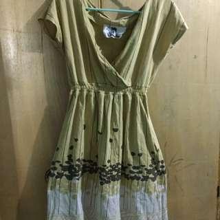 Herbench Yellow Dress