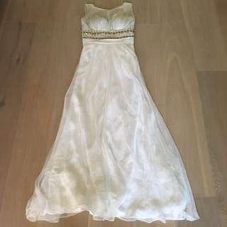 **24-HOUR SALE** Designer Inspired - Jewel Beaded Chiffon Dress