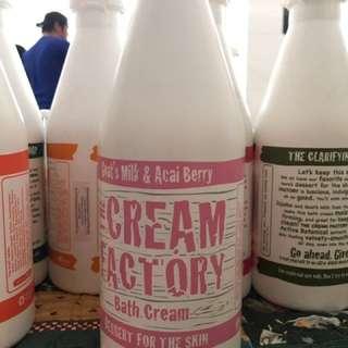 The Cream Factory Bath Cream