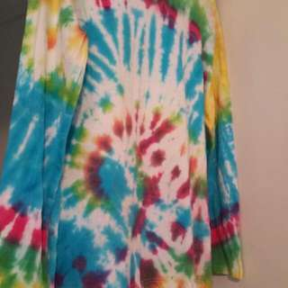 Size 9 Tie Dyed Top