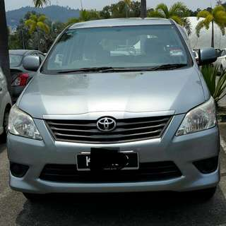 Langkawi Rent-a-Car: Innova