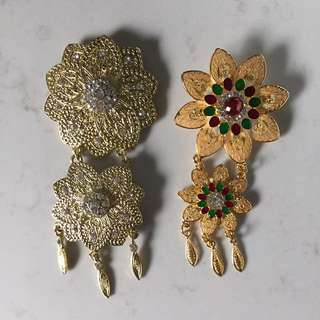 Indonesian Brooches