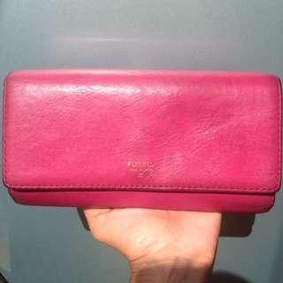 Fossil Sydney Long Wallet Pome