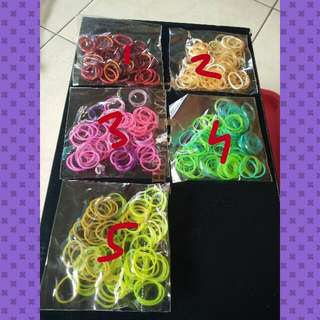 Mixed Incredeable Loom Bands