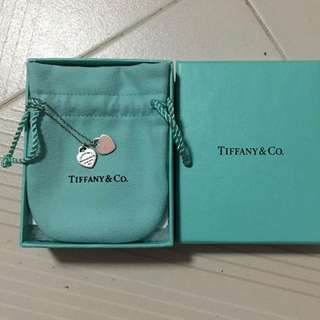 Used Tiffany & Co Necklace (Pink Heart)