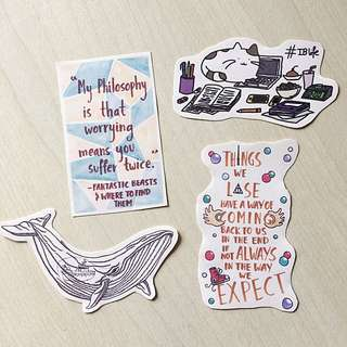 Hand Drawn Stickers