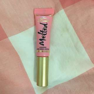 Too Faced Melted ~ Melted Peony