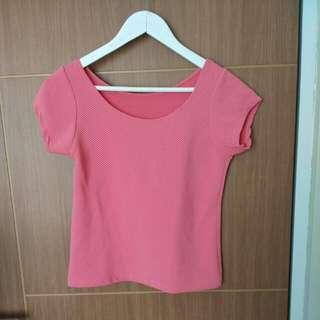 Atasan/Blouse/Pink-preloved