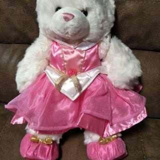 *reduced* Build A Bear Princess *includes Clothes