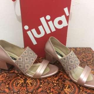 Sandal Pesta Julia'r Rose Gold