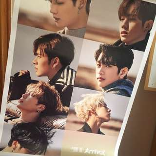 2017 Official Got7 Poster