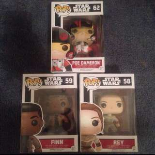STAR WARS POP FUNK VINYL