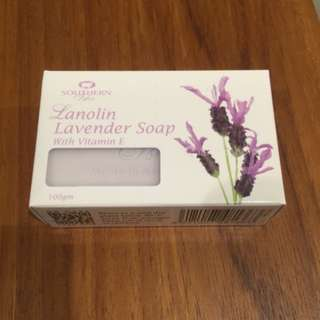 Southern Isles 香皂系列-Lanolin Lavener Soap with Vitamin E