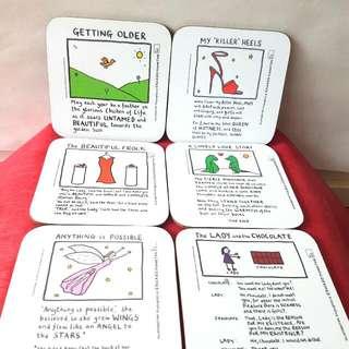 Edward Monkton Coasters