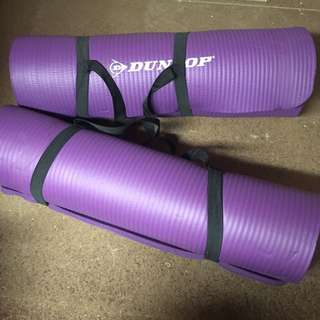 Dunlop purple gym mats (set of two)
