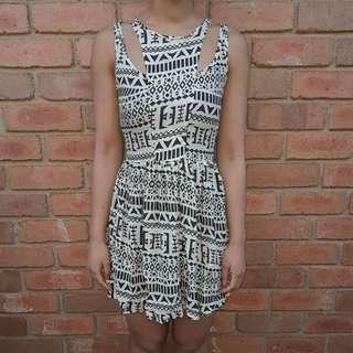 Mossman Patterned Dress