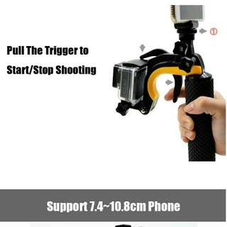 Gopro Floating / Shutter / Stabilizer Grip