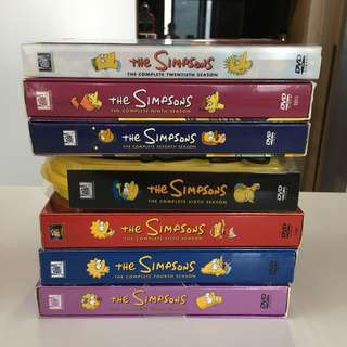 DVD collection- Simpsons