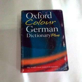 German Dictionary (Oxford Colour)
