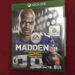 Madden NFL 25. Xbox One