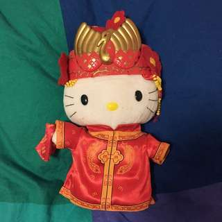 Hello Kitty Chinese Doll