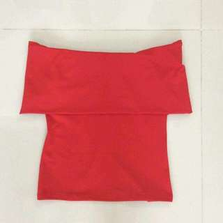 Apartment 8 Inspired Red Ofd Shoulder