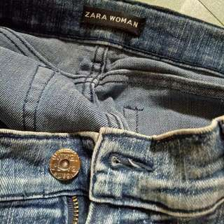 Zara denim size 28