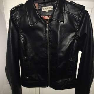 J.H.N.S.J Faux Leather Jacket