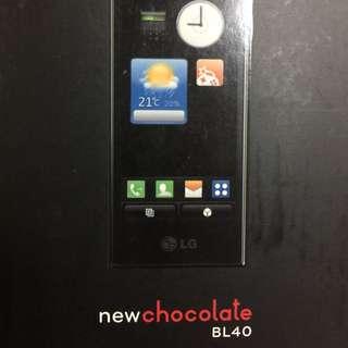 二手手機LG BL40巧克力機
