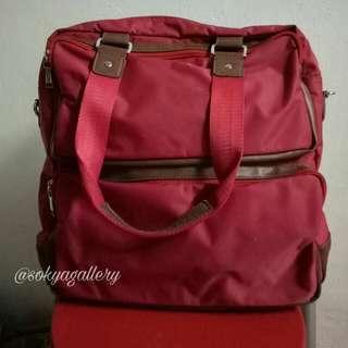 Tas Shoulder Bag Elizabeth Roomy Merah