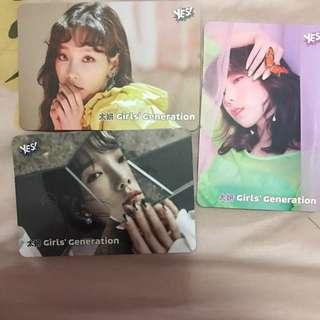 太妍 Yes Card