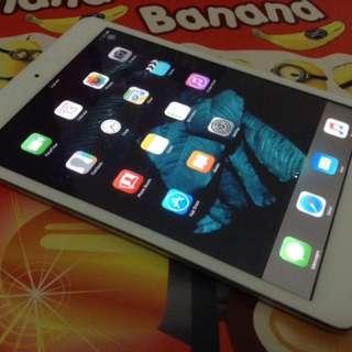 Ipad Mini 1 Wifi + Cellular Model A1455 (Silver Colour)