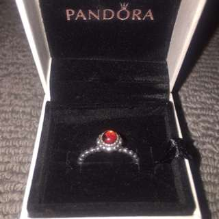 Authentic Pandora Rings Size 48-52