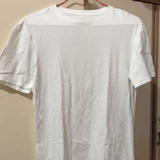 White longline shirt winstreetandco