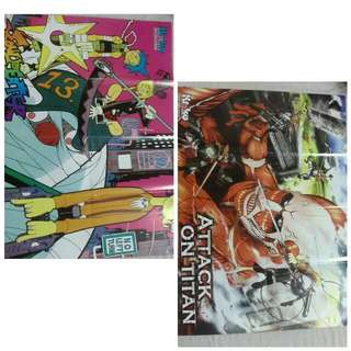 Anime Poster (3 For RM10) #freepostage