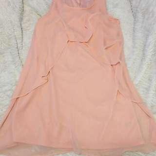 Pink/Peach Summer Dress