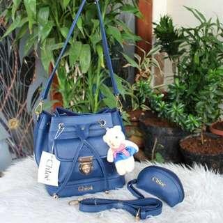 Blue bag CHLOE Promo