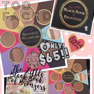 TOO FACE LITTLE BOOK OF BRONZERS LE