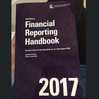 Financial Reporting Handbook 2017