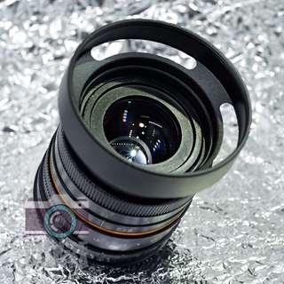 Fujifilm FX / X 相機專用 50mm f1.8 大光圈人像鏡頭 FX Fit Portriat Prime Manual Lens