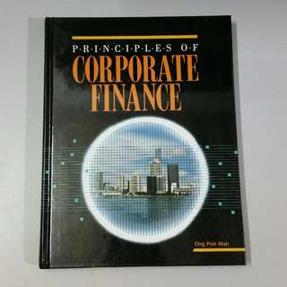Principles Of Corporate Finance Book