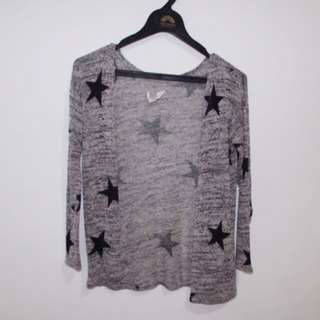 H&M Star Cardigan Knit