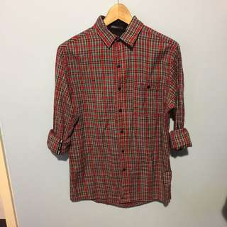 STUSSY Checked Shirt - Size S