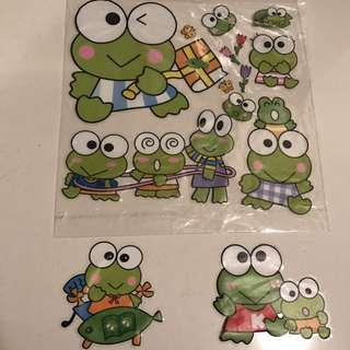 Cute Frogs 🐸Mirror Stickers