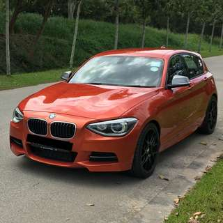 2012 BMW M135i 5Dr Orange